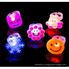 Wholesale Various Flashing LED Plastic Toy Ring
