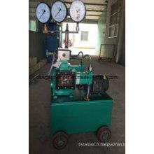 Pompe de test hydraulique électrique