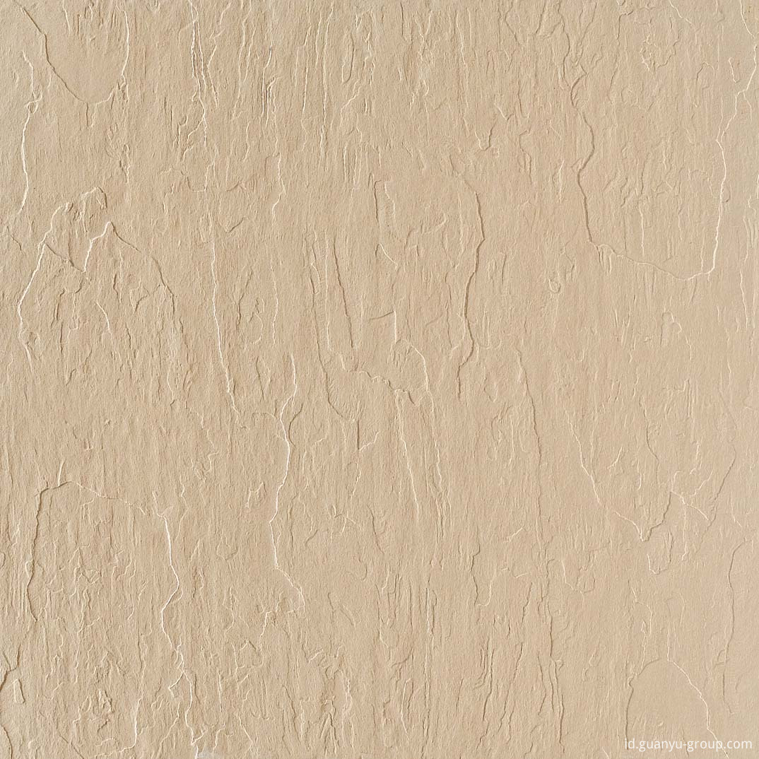 Rock Surface Beige Glazed Porcelain Tile
