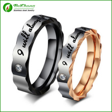 Bague de Couple plus récent Fashion Simple mariage