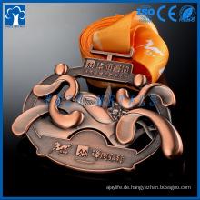3D Metallfreude läuft Bronzemedaillen