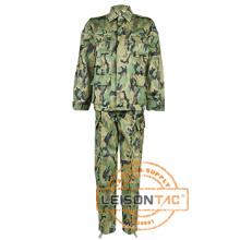 Uniforme militar Bdu con algodón / poliéster de calidad superior