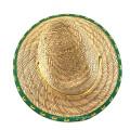 Sombrero de paja de moda de verano