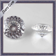 Pure Round Shape Millennium Cut Cubic Zirconia