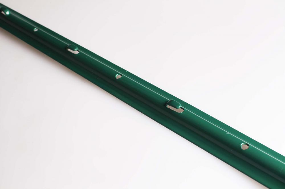 Green Powder coated Steel U Post