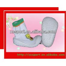 Top alto bebê meias meias sapatos