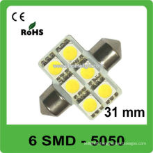 DC12V 6SMD led light bulb festoon