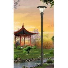2014 Chinesische 4m Großhandel Fabrik Garten Solar führte Garten Licht