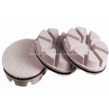 Bloco de polimento de concreto e pedra de diamante