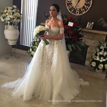 Mittlerer Osten Beaded Luxus Türkei Designer Brautkleid