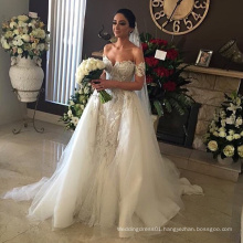 Middle East Beaded Luxury Turkey Designer Wedding Dress