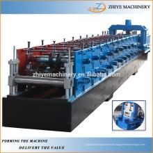 Alta calidad de la forma de C rodillo de acero que forma la máquina
