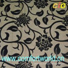 Vente en gros de flocage tissu de haute qualité