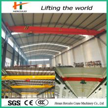 Construction bâtiment matériaux simple poutre électrique pont roulants 5 tonnes