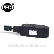 ductiile iron material hydraulic modular pressure relief valve