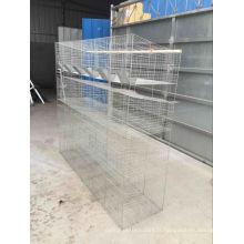 Bonne qualité bas prix vertical cages de lapin de type de cage à vendre