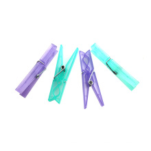 Отличные прямые продажи мини-пластиковые прищепки пластиковые вешалки для одежды вешалка