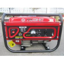 Generador de energía portátil rojo, generador de gasolina (HH3000-A)
