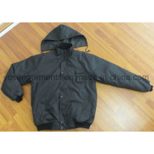 Men′s Padding Padded Winter Warm Parka Waterproof Pilot Jacket (IC28)