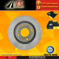 Aftermarket brake disc for PEUGEOT 405 steel casting disc brake system