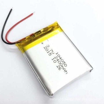 Li-ion Battery Li-Polymer Battery 3.7V with 2300mAh
