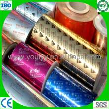 Impression médicale en feuille d'aluminium