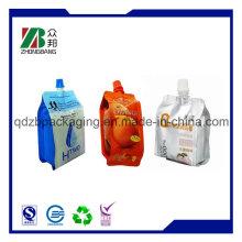 Plastik Stand up Auslauf Food Retorte Beutel für Saft Verpackung