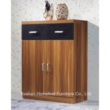 Durable 2 Tür + 2 Schublade Wooden Show Schrank (HHSR04T)