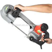 680w Portable Mini Electric Power Speed ​​Variable Métal / Acier / Bois Cutting Band Saw Machine