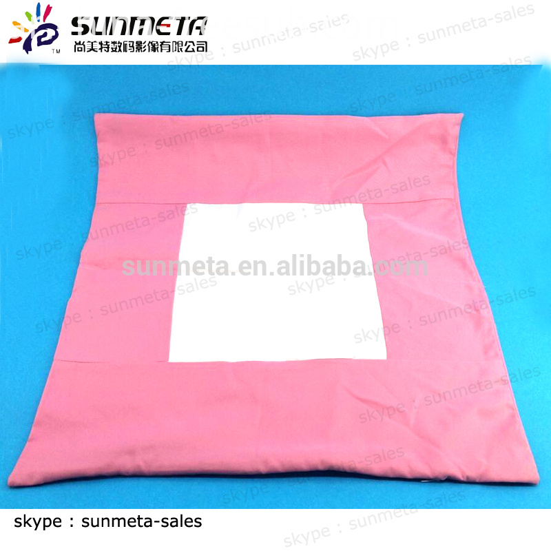 Blank sublimation products printing size red pillow cover
