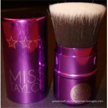 Cepillo de maquillaje plano recargable Kabuki