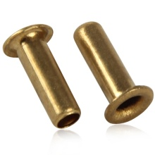 Zink Plate Brass Hollow Buta Rivet Nuts