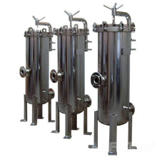 Filtro de seguridad de acero inoxidable para tratamiento de agua