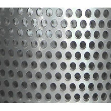 Zinkbeschichtetes Stanzlochblatt / perforiertes Metallgewebe