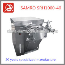direct manufacture 1000L/H 40 Mpa types of homogenizers