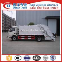 Dongfeng 10cbm camión de limpieza de basura para la venta caliente en Sudáfrica