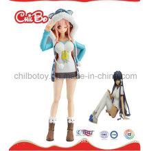 Lovely Girl Plastic Figure Toy (CB-PF017-S)