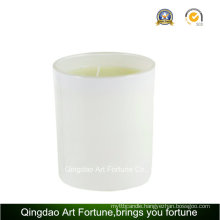 Glass Filled Scented Candle for Wedding Party Decor
