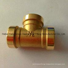 Professional Copper Socket Tees
