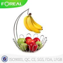 Spectrum Fruit Tree Basket and Banana Holder, Chrome