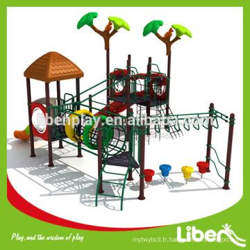 Équipement de jeu de jardin standard ASTM pour les enfants plus âgés