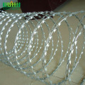 Murah Galvanized Steel Plate Razor Barbed Wire Price