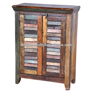 reclaimed timber cabinet