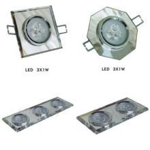 siliver  Crystal LED Ceiling spot Lights ,