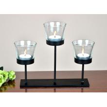 home table decoration metal tea light holder candle holder