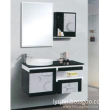 Fashion Color Bathroom Furniture Pvc Cabinet