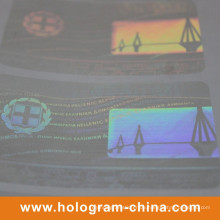 Laser Transparent Hologramm Sicherheit Label