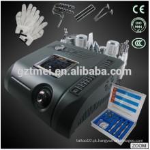 Diamante dermoabrasão esfregador de pele ultra-sônica quente e frio martelo beleza facial equipamentos TM-N96