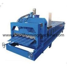 Color acero esmaltado techos de azulejos estampación de la máquina (XH1100)