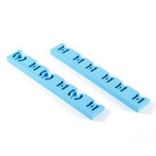 Blauer medizinischer Silikonschutzkartenstreifen